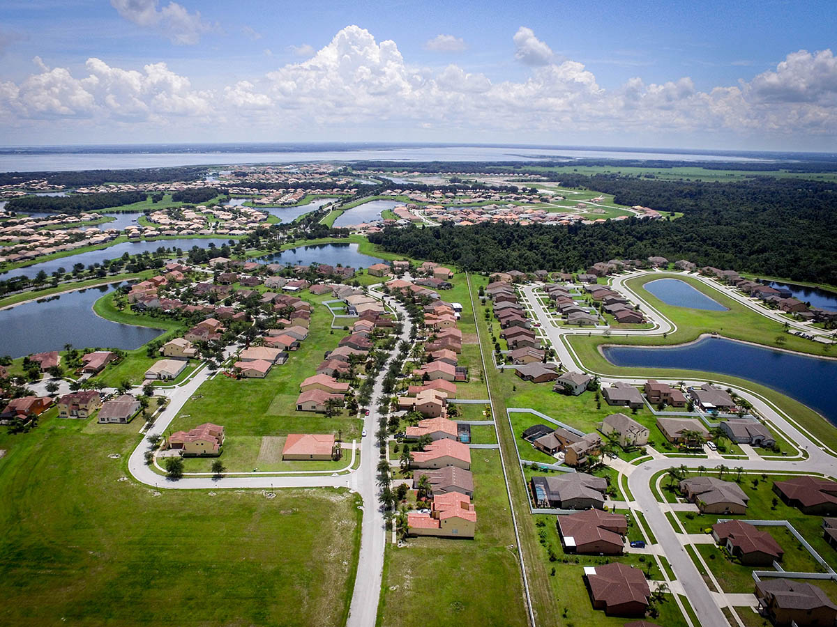 Aerial Photo Kissimmee