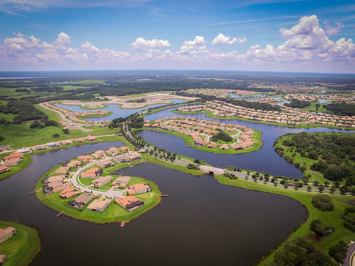 Aerial House Photo Kissimmee